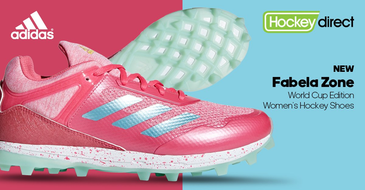 best loved 3c74b 2a7e2 adidas Fabela Zone hockey shoes are designed with a breathable mesh upper,  also features foil