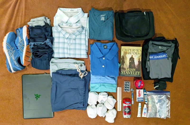 one bag travel on twitter my own packing list for a business