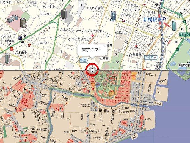 500RT:【まさにブラタモリ】現在・昭和・江戸時代の地図を同時表示できるサービスが公開 https://t.co/fiYP2JRvWU  地図の移動はドラッグで簡単にでき、スマホでもサクサク操作できるため気軽に東京の移り変わりを楽しめる。