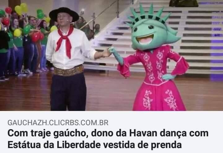 Replying to @BrunoBocchese: Dono da Havan is the new dono da Riachuelo.