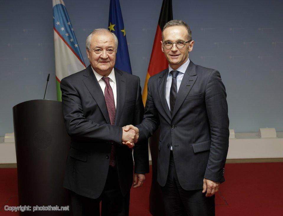 Usbekistan ist auf Reformkurs, u.a. im Bereich Menschenrechte gibt es echte Fortschritte. Außenminister @HeikoMaas hat seinem usbekischen Amtskollegen Kamilow gestern versichert: Deutschland wird diesen Weg weiter unterstützen.