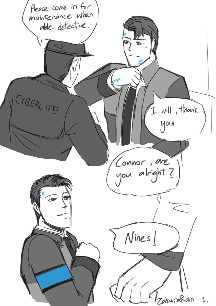 I craved myself for some RK1700 content so did some sketches &lt;3  #drawing #digital #comic #sketch #clipstudiopaint #dbh #detroitbecomehuman #connor #connorarmy #RK900<br>http://pic.twitter.com/VXzprF90od