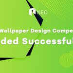 Image for the Tweet beginning: #NEO Wallpaper Design Competition for