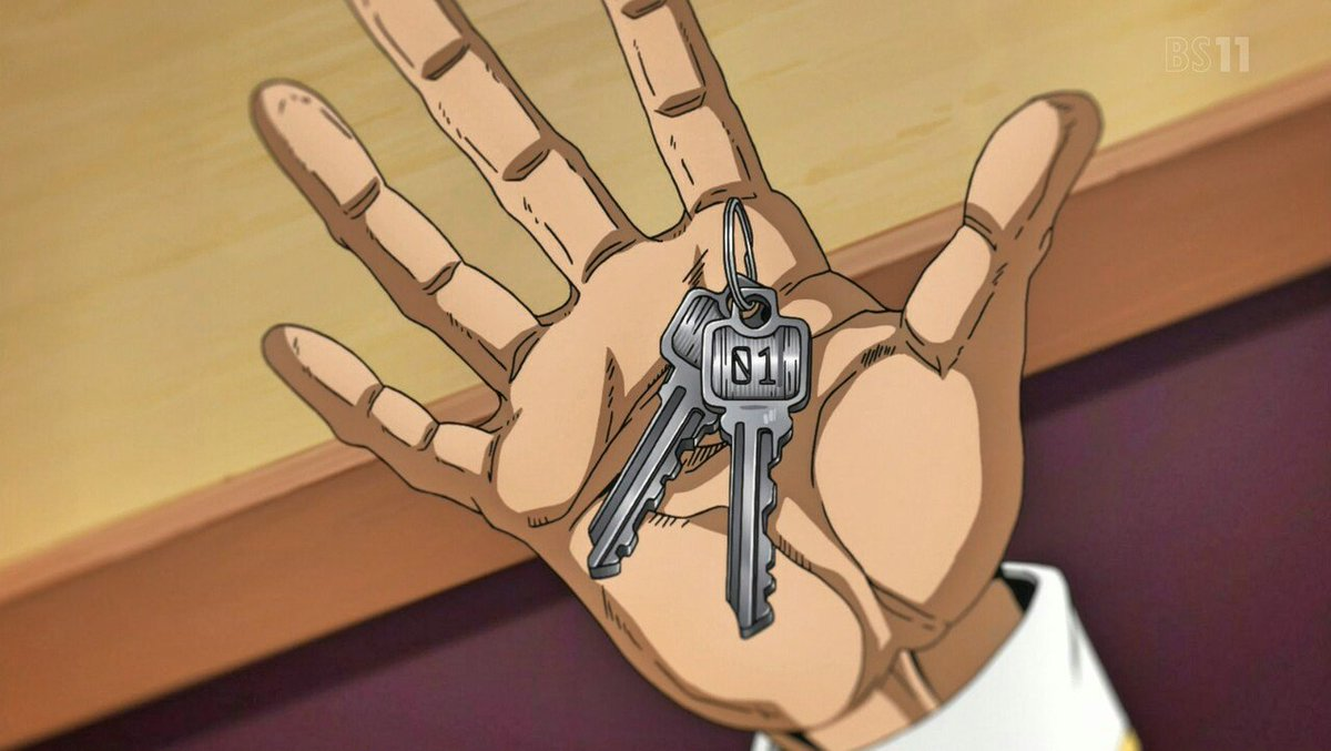 ソフト・マシーン、原作補完として自分達で乗る船を選択するシーンでブチャラティは「01」キーを貰っていながら、いざ出航してみるとズッケェロの能力でペラペラになった「LAGOON2」に乗車しているという伏線を、制作の細かな描写にぼくは敬意を表するッ! #jojo_anime