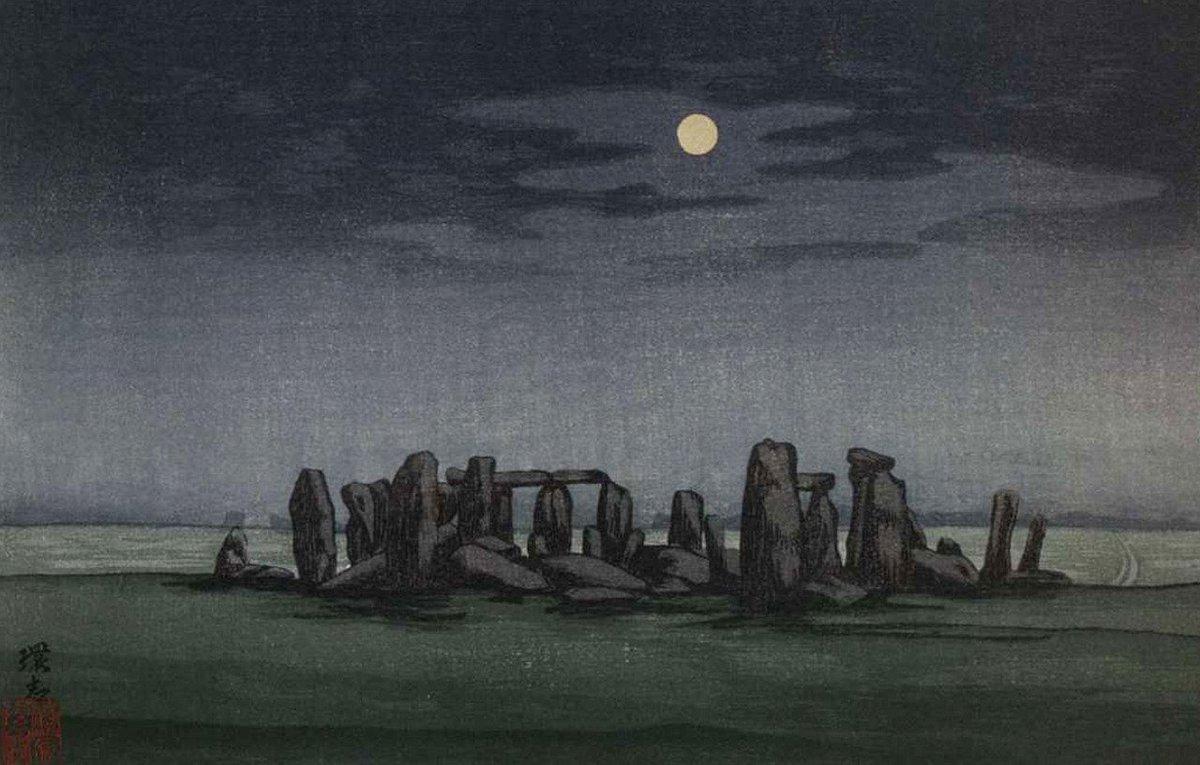 stonehenge moonlight - 1200×765