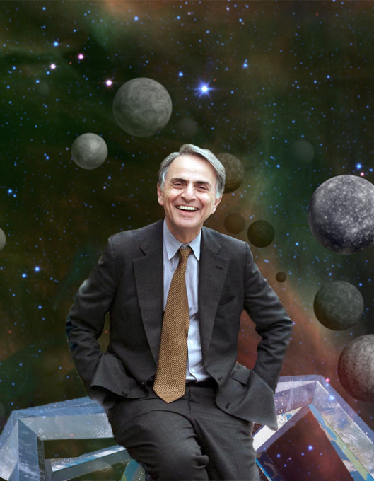 Happy Birthday Dr. Carl Sagan We will forever keep you in our hearts.