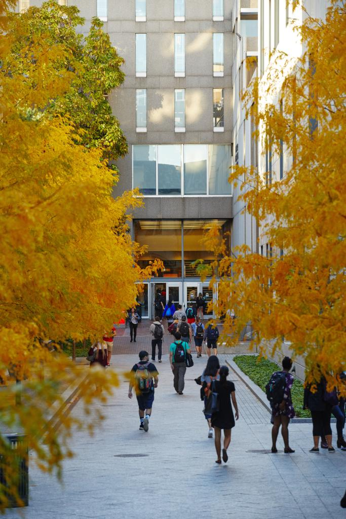 Each day is bringing new colors to campus, but we'd be fine with these ones sticking around for a while longer. 🍂