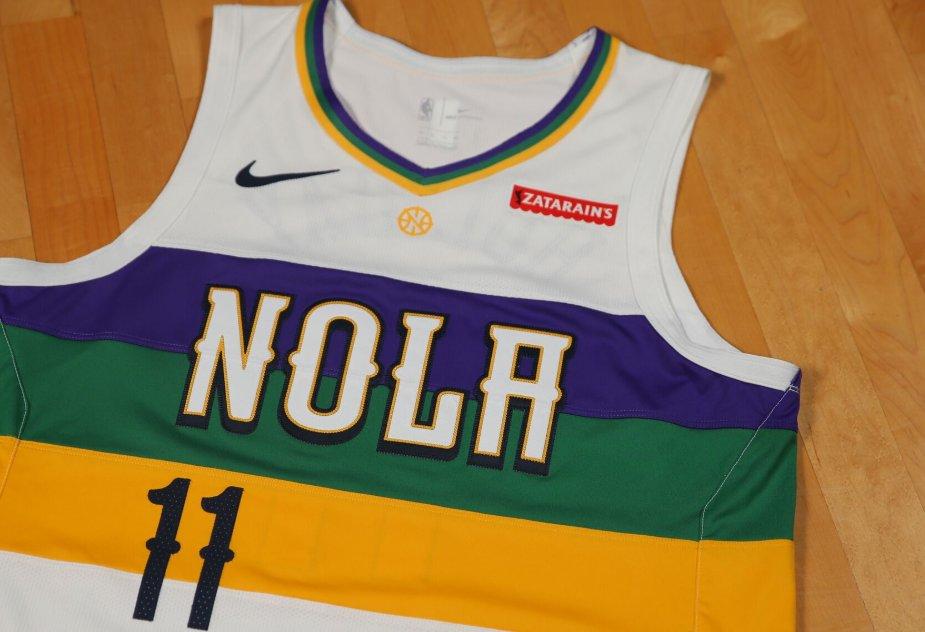 New Orleans Pelicans Unveil Nike City Edition Uniform