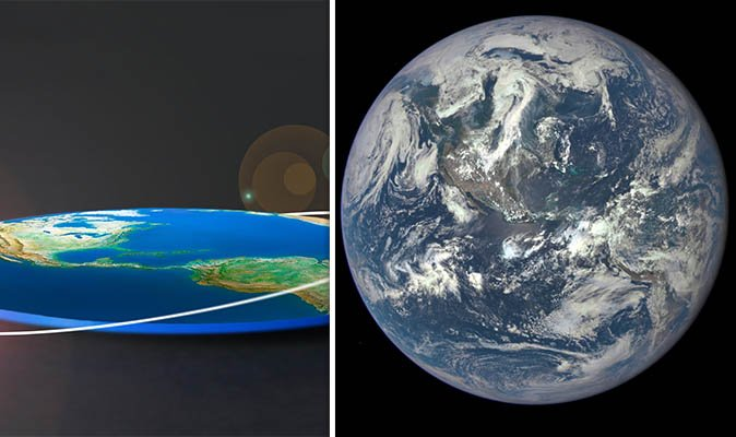 #NASA releases footage confirming the Earth is NOT flat #flatearth   https://t.co/FRuqJYDRwu