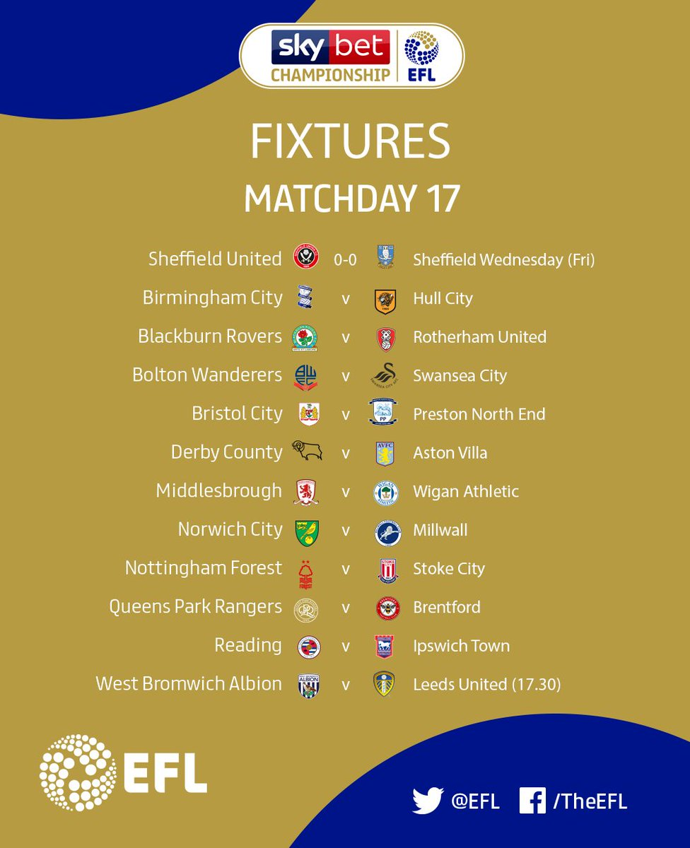 Good morning! 👋🏻 You ready for some of this later on? ⚽️ 🔜 How do you fancy your teams chances today? 🤞🏻 All eyes on the @SkyBetChamp in todays #EFL action... 👀
