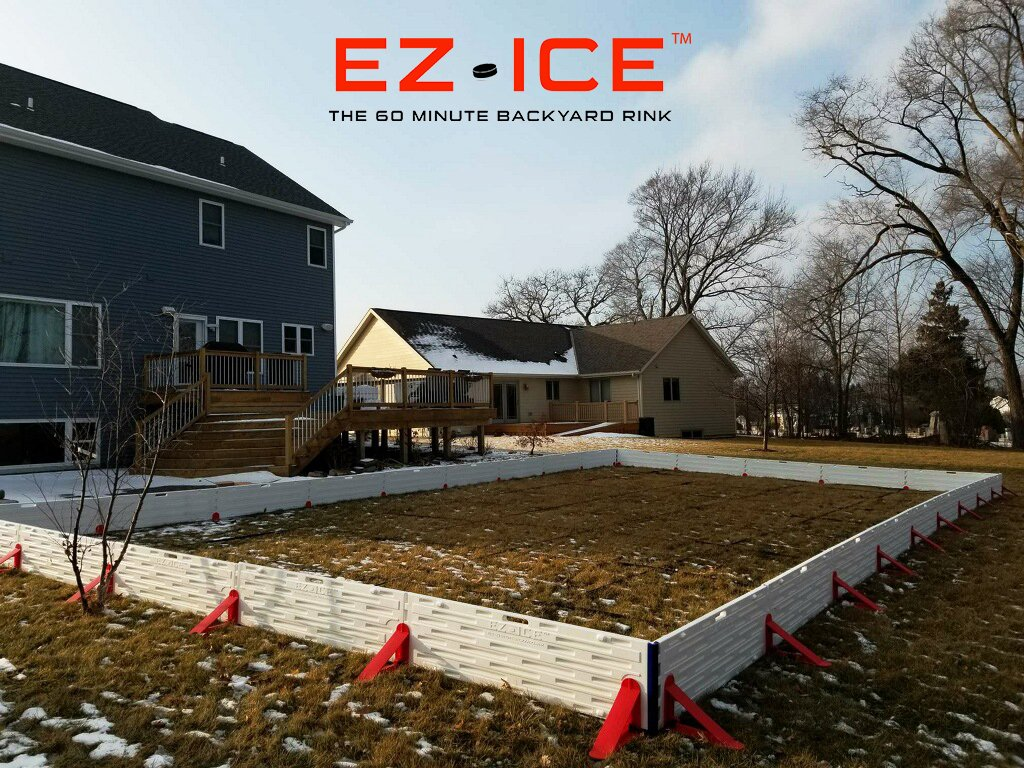 Ez Ice On Twitter As The First Bits Of Snow Begin To Fall Across The Northern Hemisphere It S A Perfect Time To Assemble Your Ez Ice Rink Even If The Ground Is