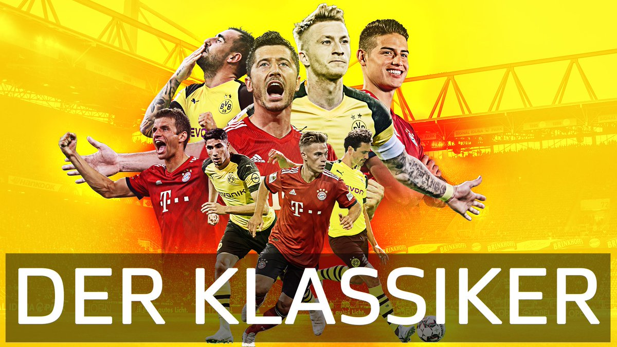 T-minus 24 hours until #DerKlassiker! 🙌 Dont miss Dortmund vs Bayern live on FS2 and the FOX Sports App tomorrow at 12:30pm ET. (Also available on FOX Soccer Matchpass!)
