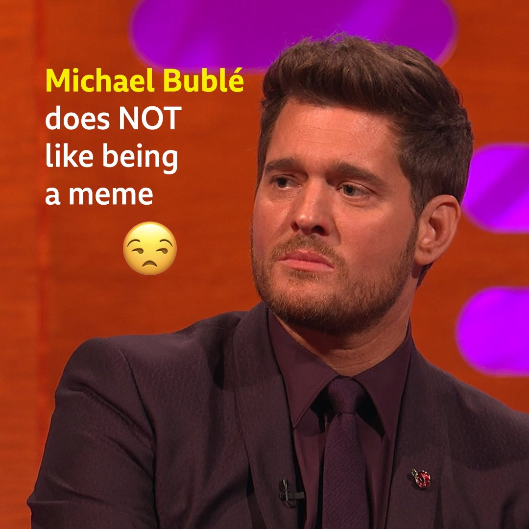 .@michaelbuble HATES this Christmas meme that goes viral every year! #TheGNShow https://t.co/Htxw02QFS1