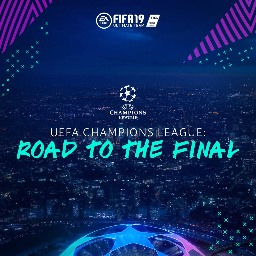 The Road To The Final �� Starts Now ➡️ https://t.co/Bmz9CrJ4xy #FUT #FIFA19 #UCL @ChampionsLeague https://t.co/4kehZLPWHZ