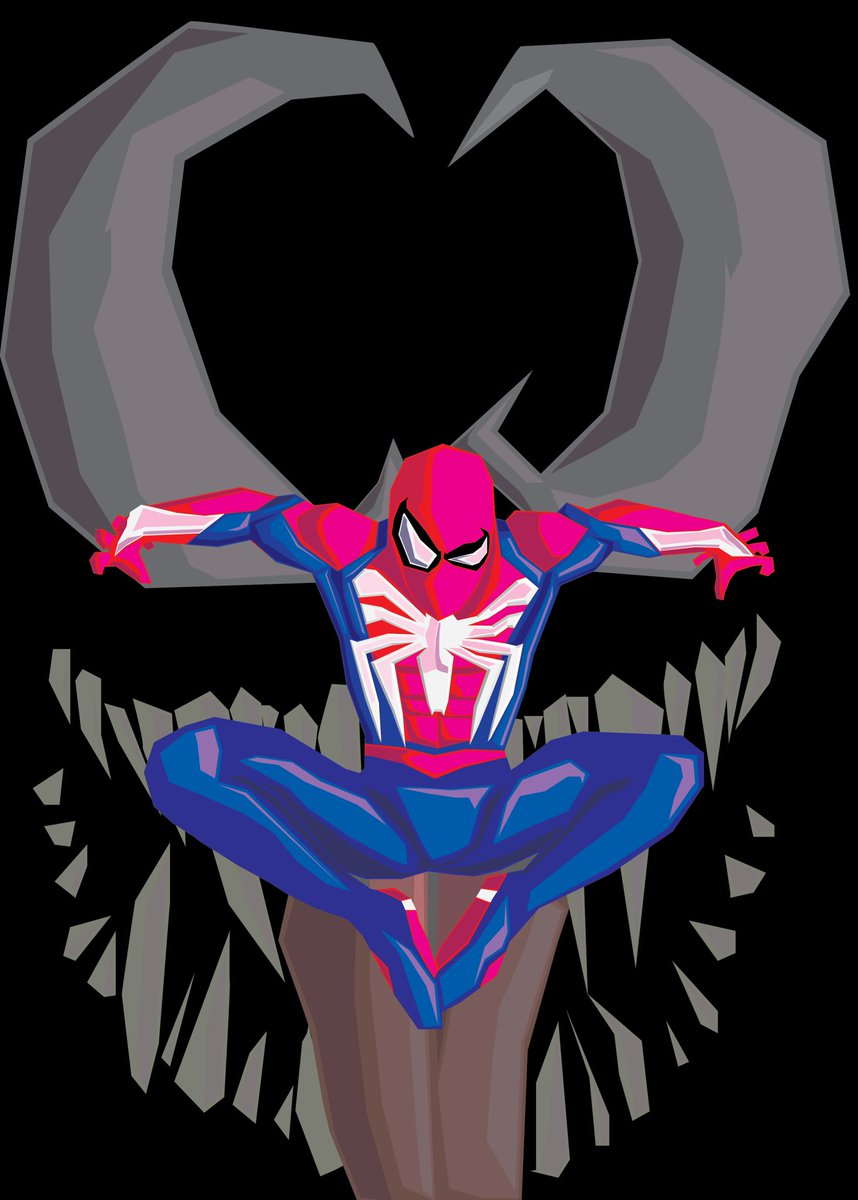 Vector art project for school @insomniacgames @bryanintihar @jacinda_chew @EvanFilarca #SpiderManPS4  #artwork #VectorArt<br>http://pic.twitter.com/H8wqqnjrx6