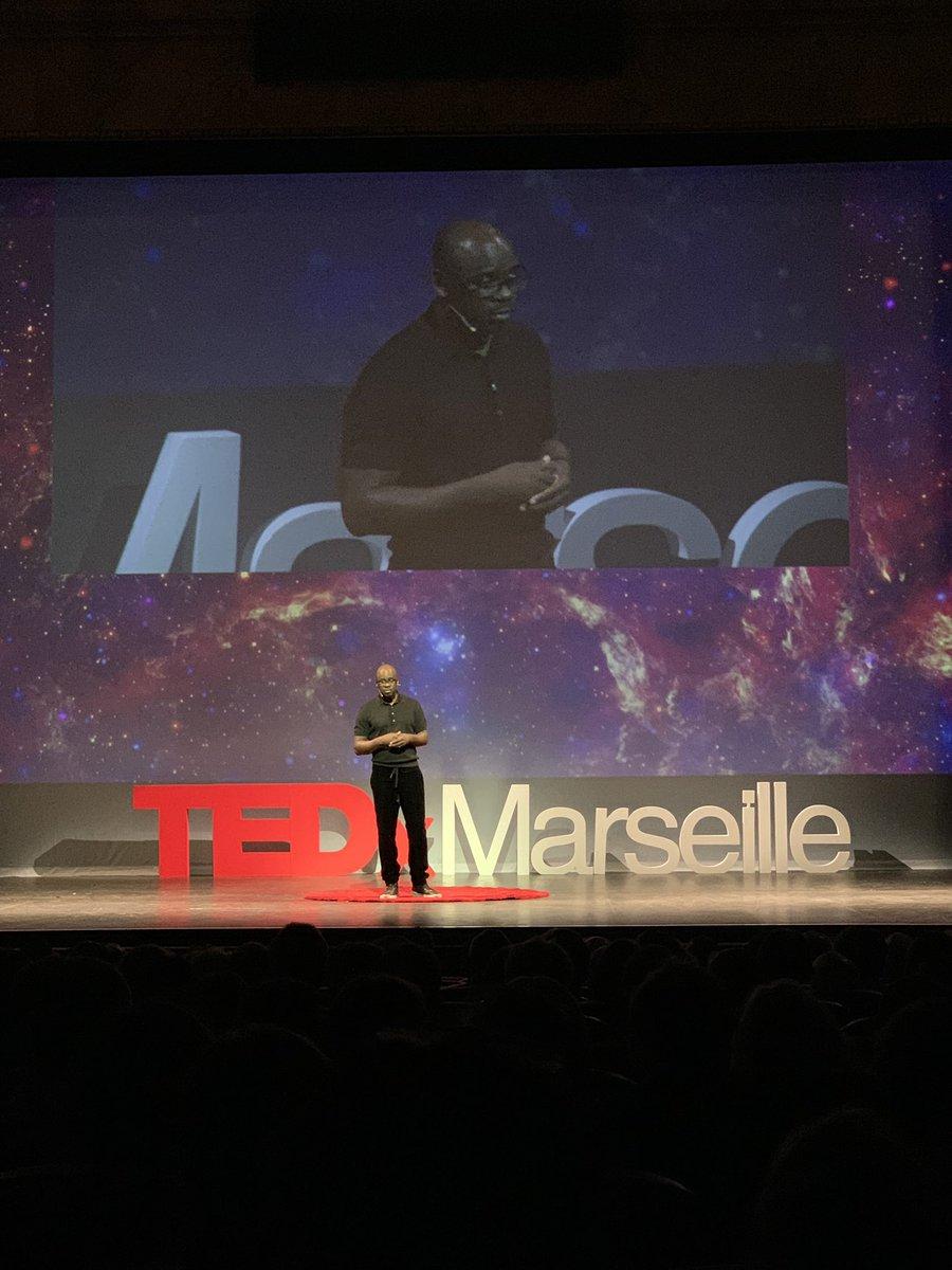 RT @mylene_prost: #TedXMarseille   L'immense @LilianThuram21 pour commencer la 3ème édition de @TEDx_Marseille https://t.co/xmblEU0oJC