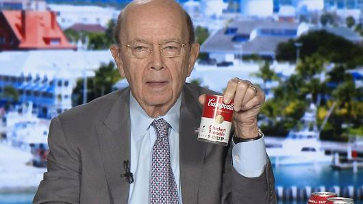 Report: US commerce secretary Wilbur Ross resigning, to spend more time with his bags filled with money.