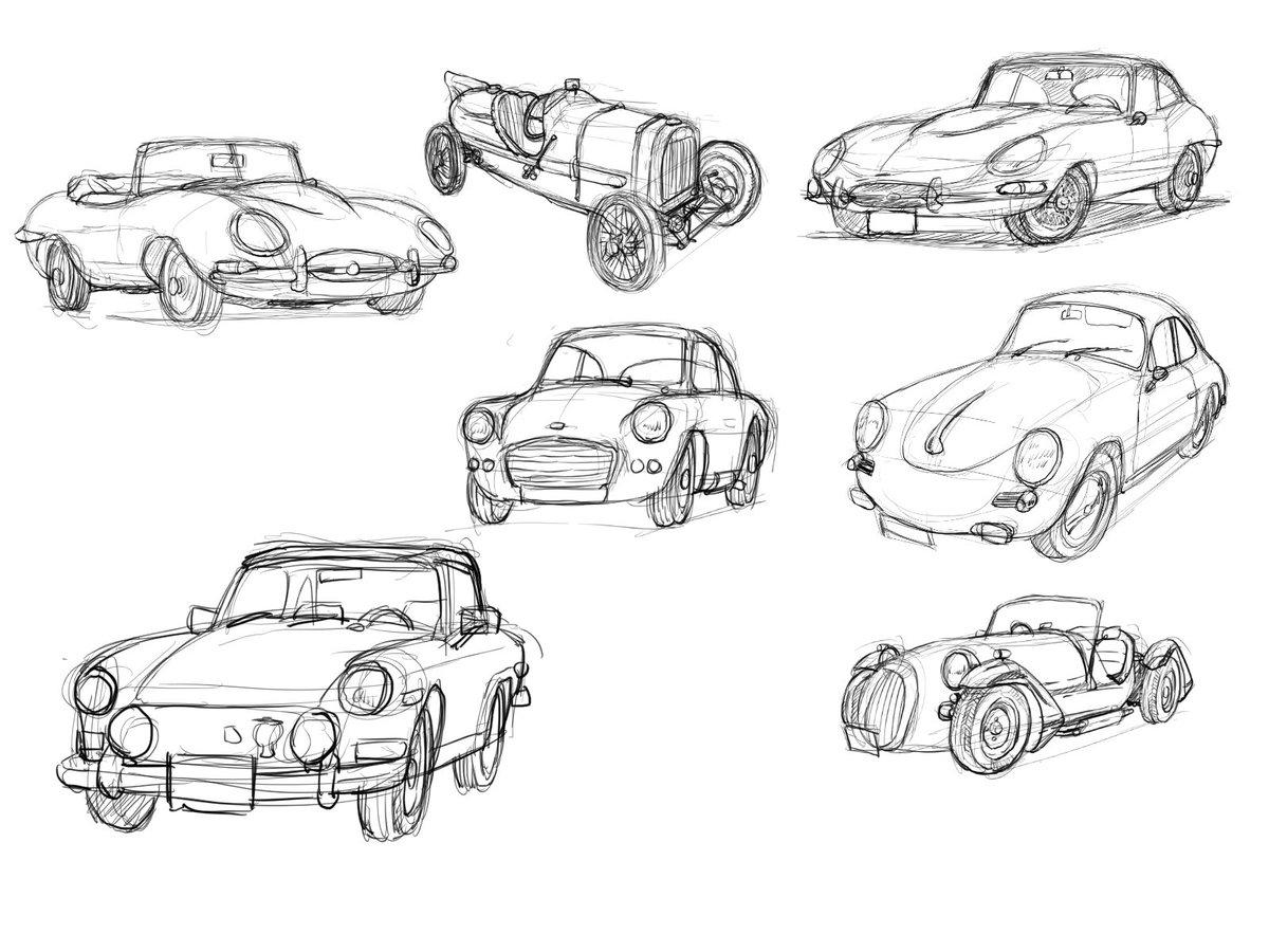 トーエシンメ At Noteで作品公開中 On Twitter Illustration Car