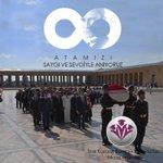 Image for the Tweet beginning: Atamızı saygı ve sevgiyle anıyoruz... #10Kasım