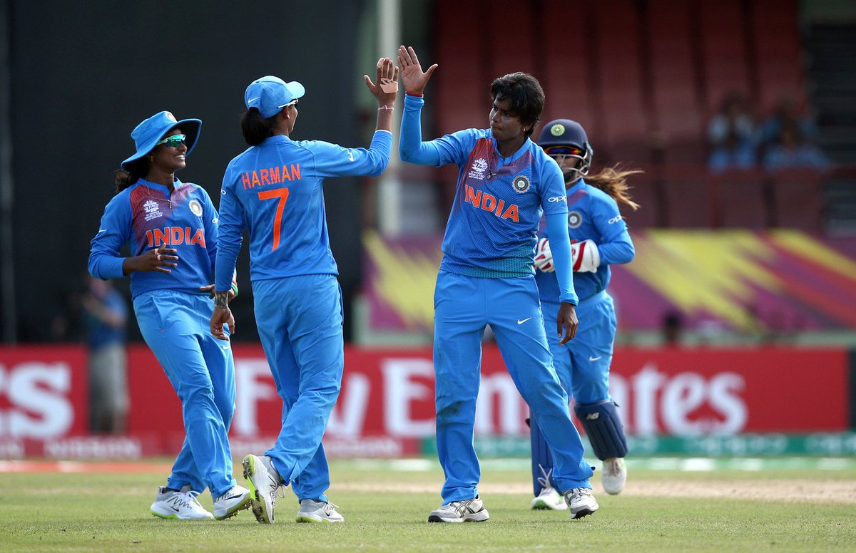 India kick off @WorldT20 in style with an emphatic 34-run win against New Zealand in Guyana!  #NZvIND scorecard ➡️ https://t.co/a3tZXV2vZA