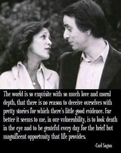 Happy Carl Sagan Day. Happy Birthday to the Cosmic Hero.