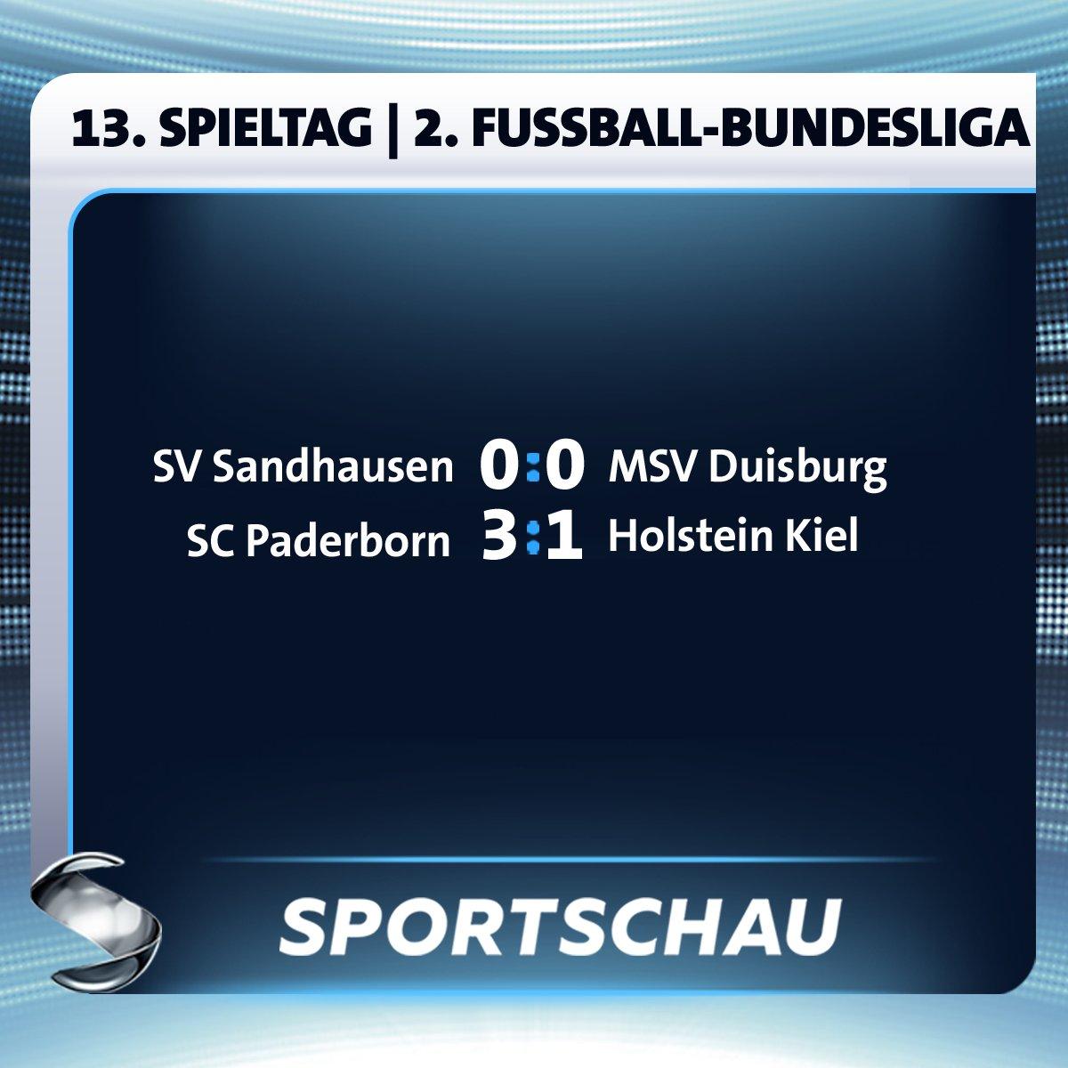RT @sportschau: Zur Halbzeit ist in Sandhausen ziemlich wenig los, in Paderborn dafür umso mehr. #SCPKSV #SVSMSV https://t.co/1cA5Oi6AcJ