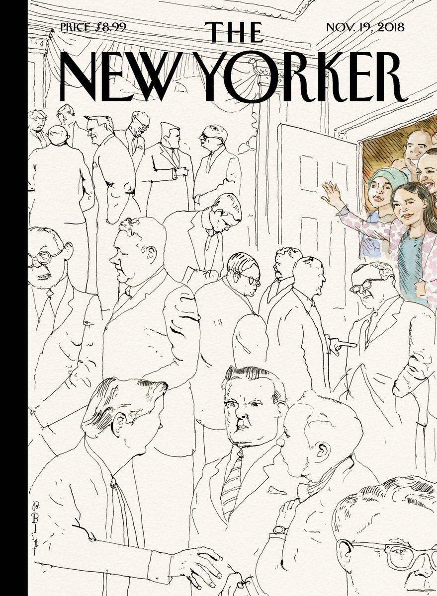 "An early look at next week's cover, ""Welcome to Congress,"" by Barry Blitt: https://t.co/a5jgW9jTun"