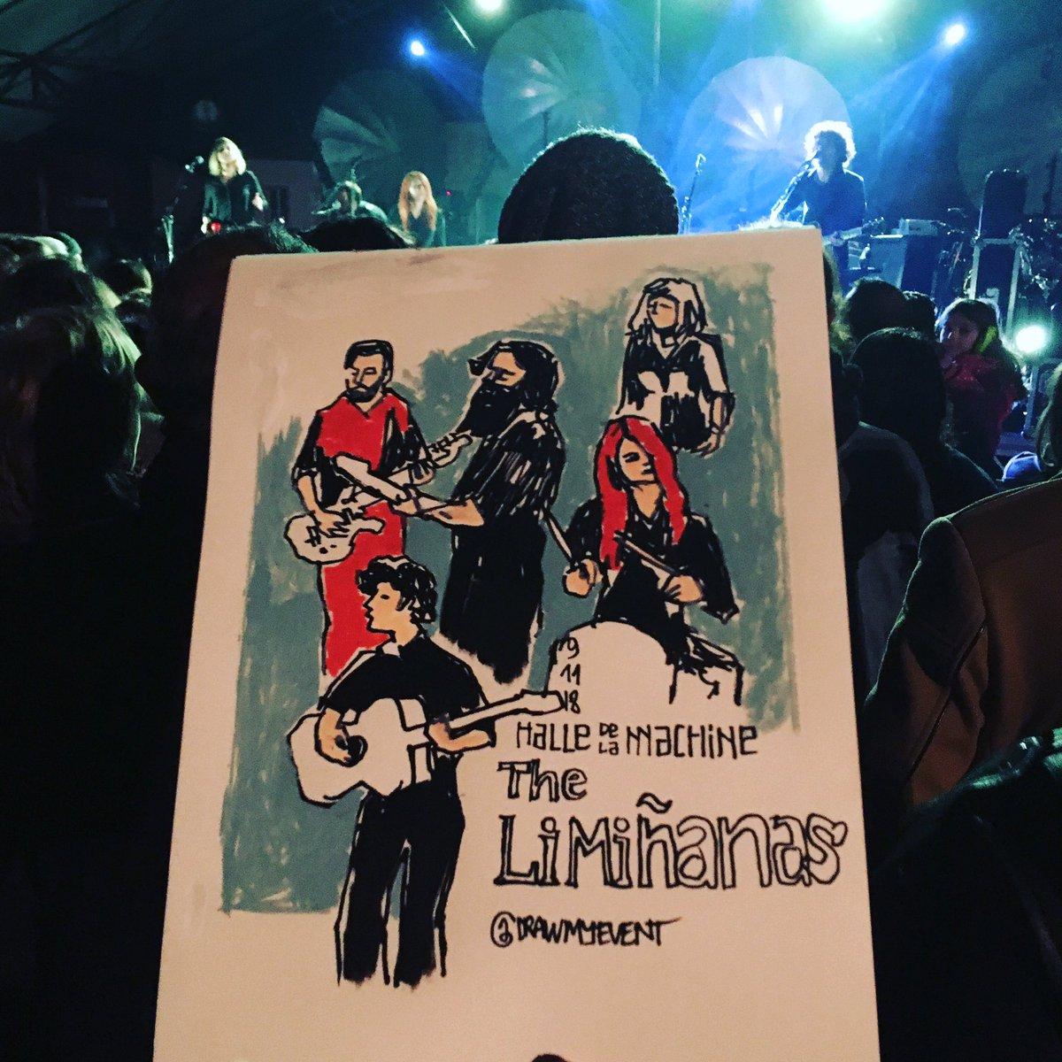 RT @DrawEvent: #halledelamachine #urbansketchers #theliminanas concert en cours, très bon ! https://t.co/qOvZXU6Z5E