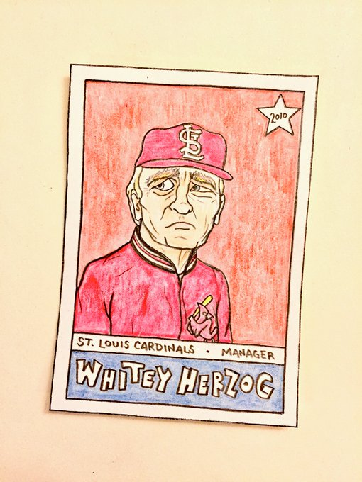 Happy birthday, Whitey Herzog!