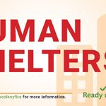 Image for the Tweet beginning: Human shelters are located at:  Taft