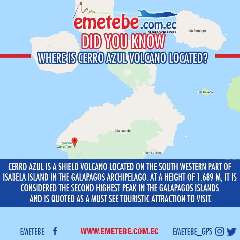 Emetebe Com Ec On Twitter Where Is Cerroazul Volcano