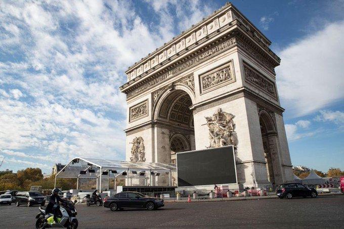 10 000 policiers, gendarmes et pompiers mobilisés pour les commémorations du 11-Novembre Photo