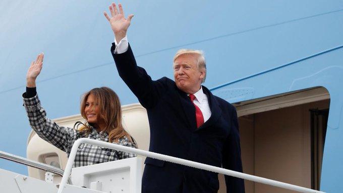 Trump invité aux commémorations du 11-Novembre snobe le Forum sur la paix Photo