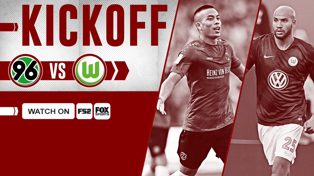 Its Bundesliga time! USMNT teammates Bobby Wood and John Brooks face off as Hannover takes on Wolfsburg! Watch now on FS2 or the FOX Sports App ➡️ foxs.pt/2AXLQZY