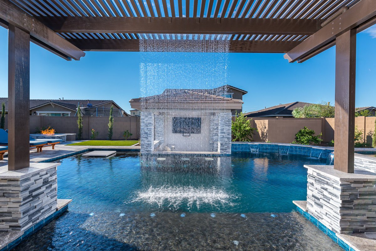 Presidential Pools On Twitter 2018 S Most Popular Swimming Pool Design Got More Than 360 000 Views Read This Interview To Learn How These Homeowners Worked With Their Presidential Pools Designer To Create A