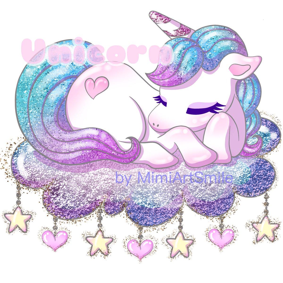 Unicorn running pink and purple Clip Art Fantasy Stunning SVG | Etsy