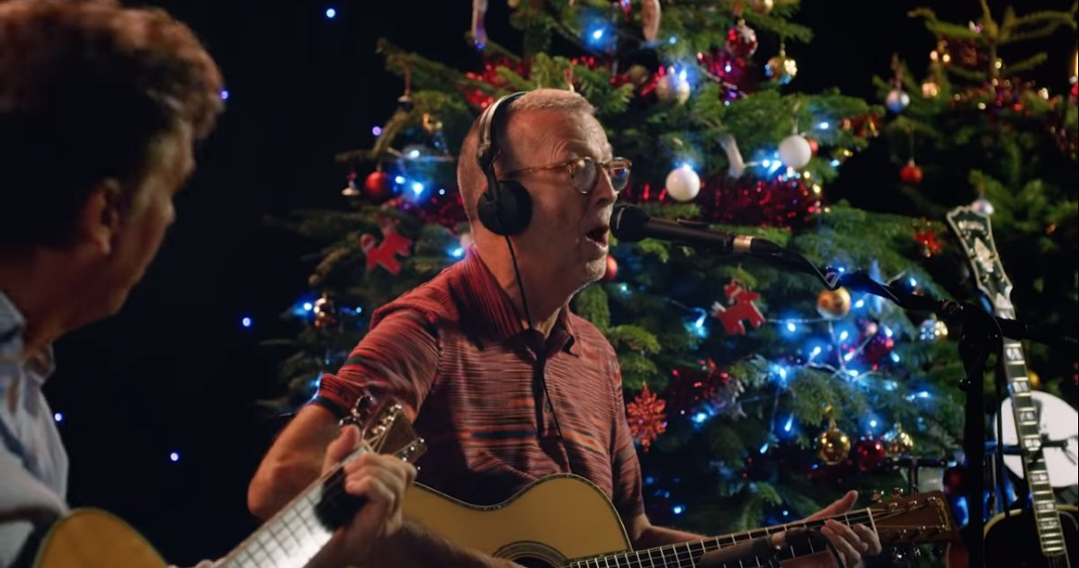 Eric Clapton White Christmas.Pet De Kat Krewe On Twitter Eric Clapton Shares White
