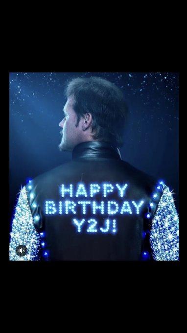 happy birthday Chris Jericho!!!