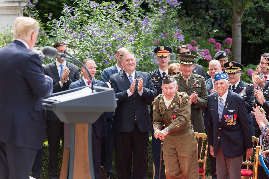 President Trump and the First Lady visited France for the 2017 Bastille Day Celebration, which included American veterans of the Normandy Invasion.   This year, the visit coincides with Armistice Day, marking 100 years since the truce that ended fighting in World War I.