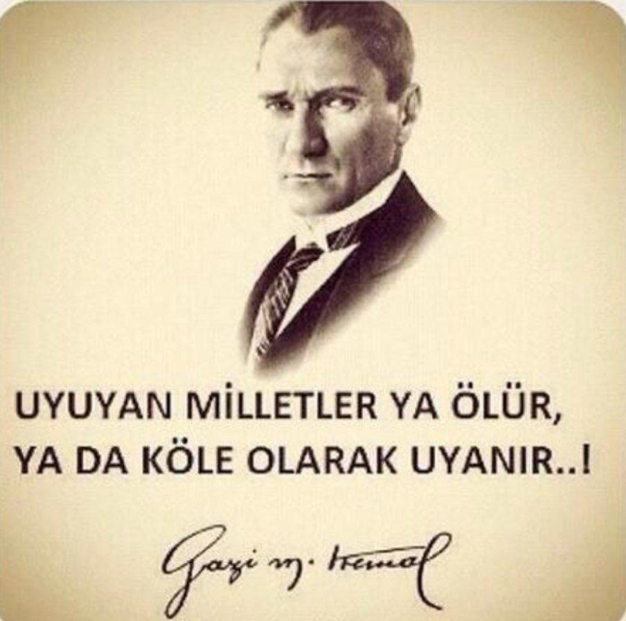 RT @tnryildiz: Birinci vazifemizin farkındayız ve daima ileriye gitmek için çalışacağız.#Atatürk #10Kasim https://t.co/aT5SF4bcGP