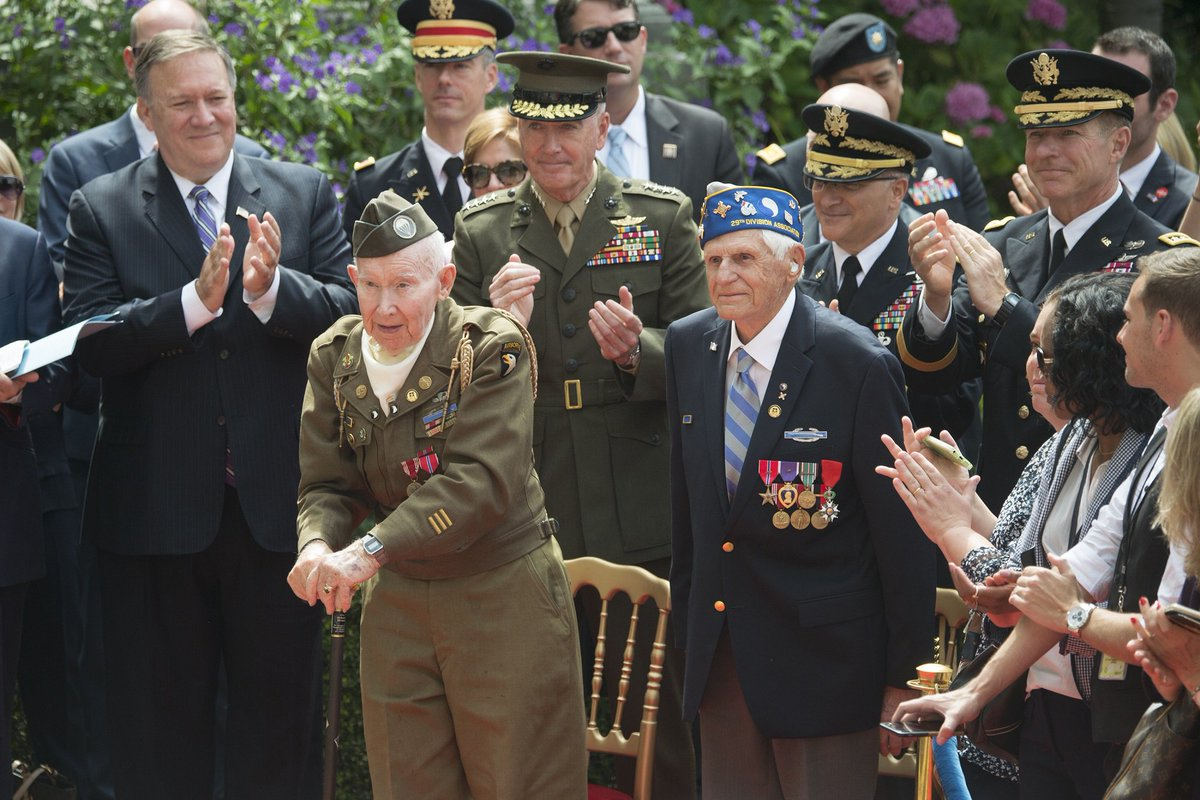 #GenDunford just arrived in #Paris 🇫🇷 ahead of the #ArmisticeDay100 commemoration. In honor of #FlashbackFriday, heres a look back at the Chairmans last visit to #France to honor our veterans & our French allies on Bastille Day. Stay tuned for more coverage of #WWI100 #1GM