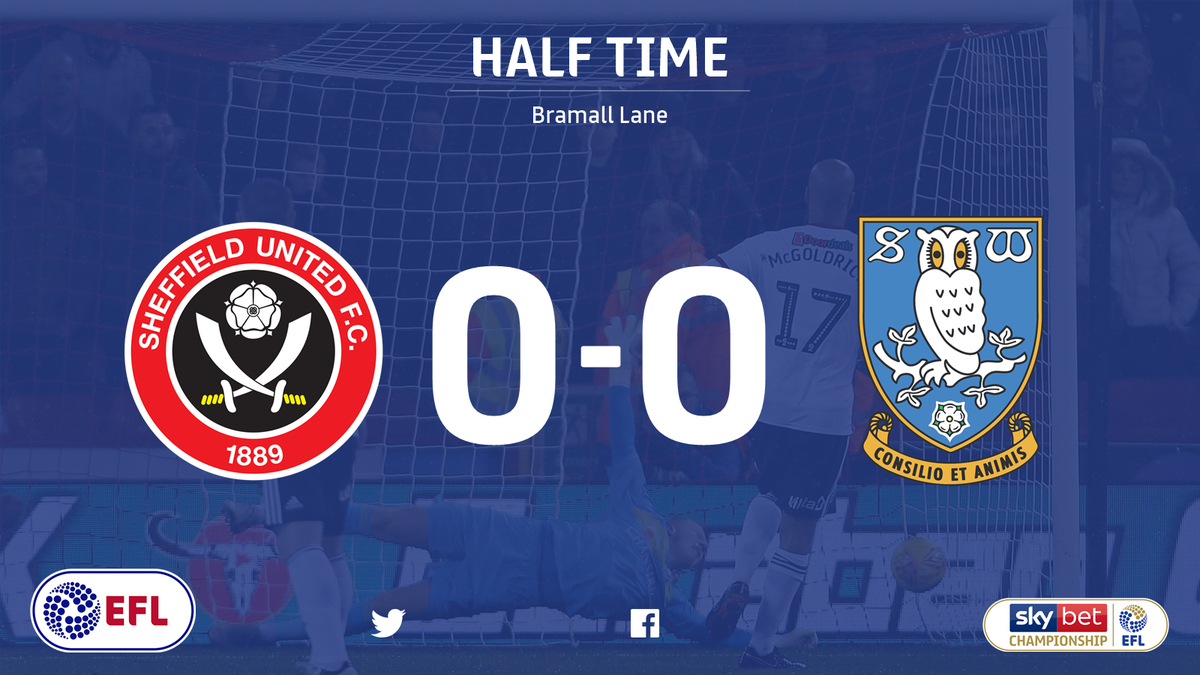 💨 Its been pretty non-stop in the first half! But its all square in the Steel City derby between @SUFC_tweets and @swfc Who do you think will score first? 🤔 #SkyBetChampionship