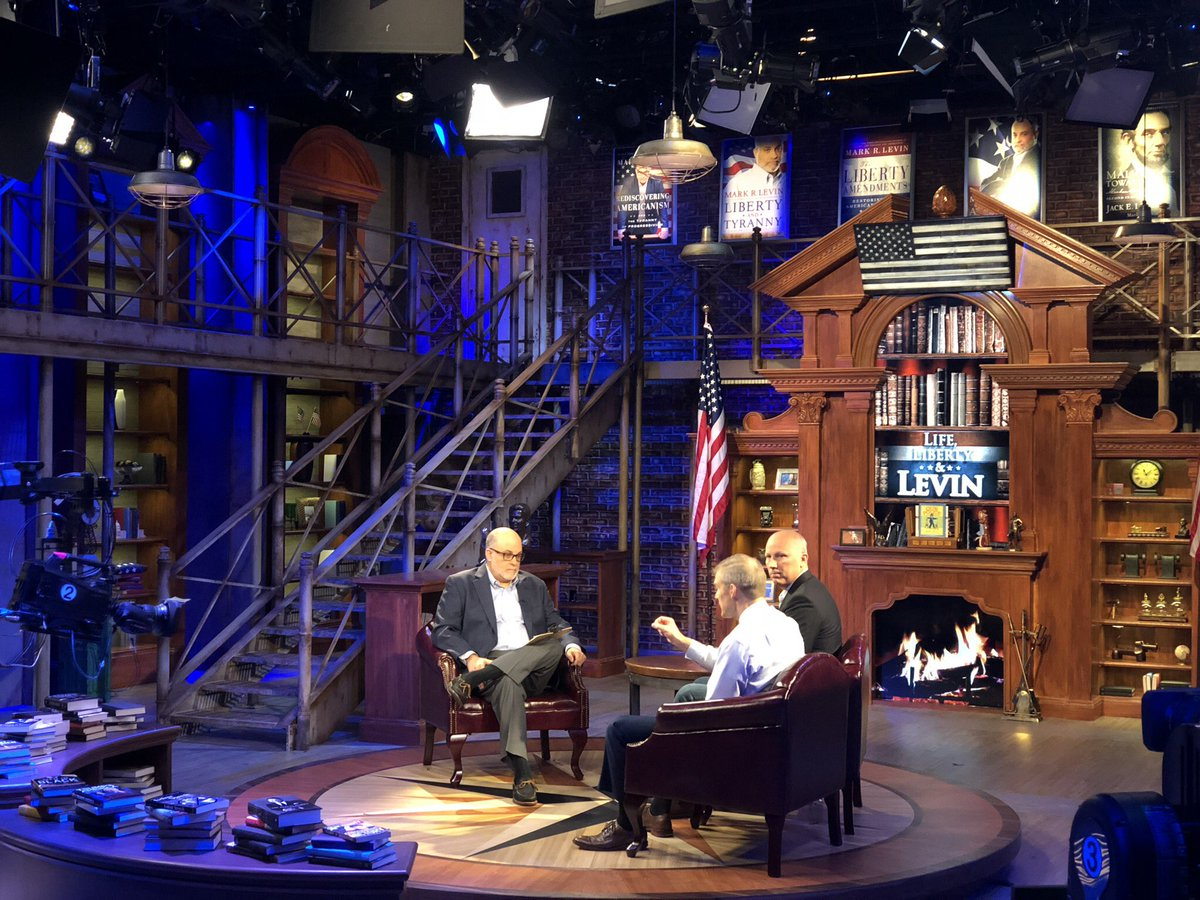 Tune into Life, Liberty & Levin with @marklevinshow on Sunday night at 10pm! I'll be going on with @chiproytx.