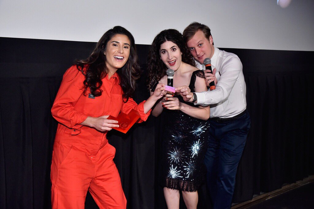 Thanks to @bejohnce and @kateberlant for their incredible talent and for hosting our event! 🎤  #GIPHYFILMFEST