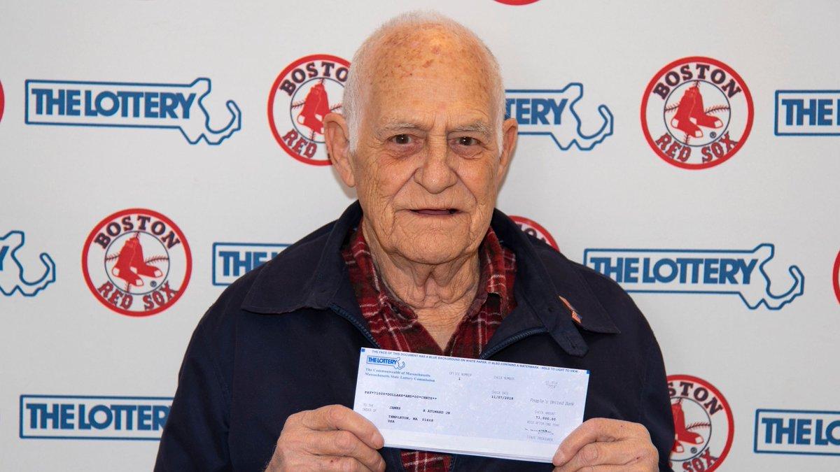 Great-grandpa wins Mass. lottery by playing numbers of #RedSox stars https://t.co/I8ytuNl9z0 via @usatodaysports