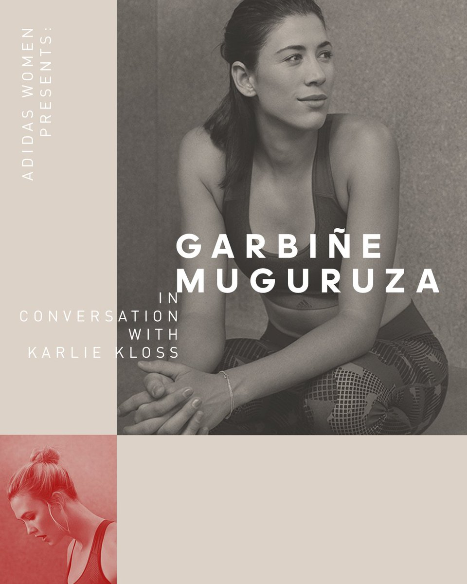 Explore tennis champion @GarbiMuguruza's love for fashion, her off-court workouts and how she's smashing life goals, as she chats with @karliekloss.   Read her full interview here: http://a.did.as/Garbine_Interview…  #HereToCreate