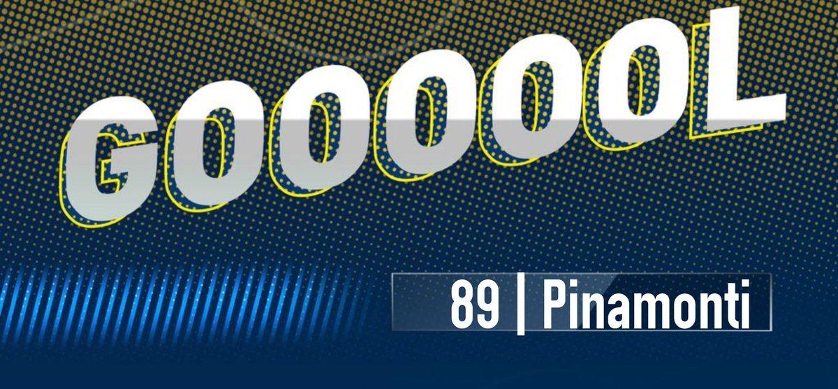 ⚽ 89' GOOOOOOOOL GOOOOOOOOL GOOOOOOOOOOOOOOL! #Pinamonti! #FrosinoneFiorentina 1-1 https://t.co/RK7amWyzwo