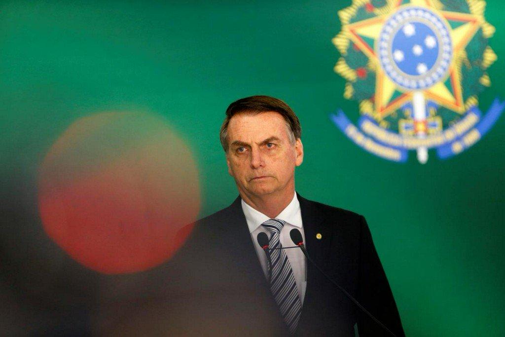 Brazil's Bolsonaro says budget deficit situation reaching limit https://t.co/bvYMrpReM8 https://t.co/pPXK1hmzQA