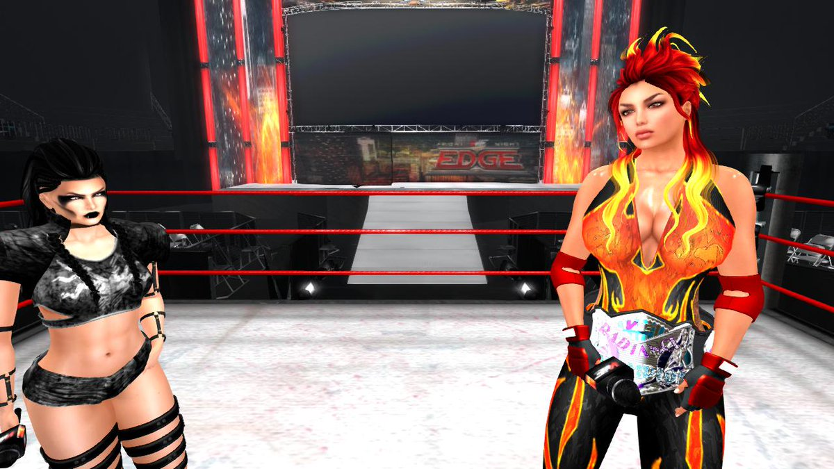 VWE Radiance Champion Lyra Phoenix and Ellie Embers