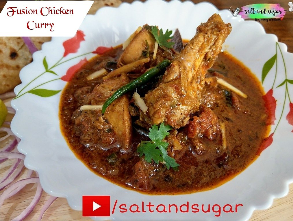Bhawana Rastogi Khan On Twitter Fusion Chicken Curry Flavorful